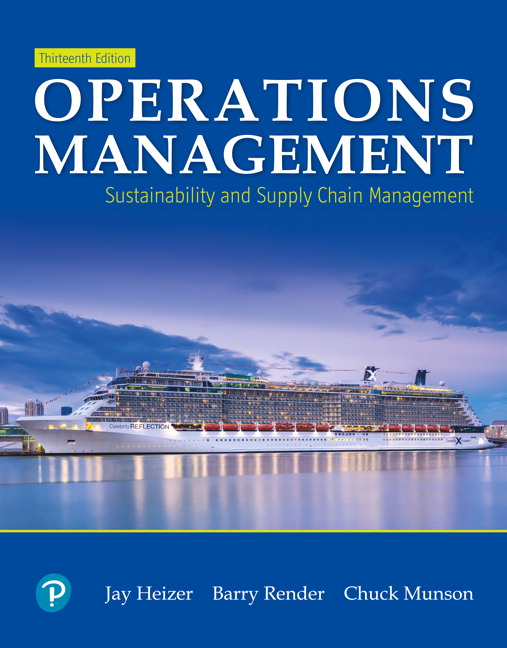 (Download Instructor's Resource Manual Operations Management: Sustainability and Supply Chain Management (13th Edition - Word and Pdf